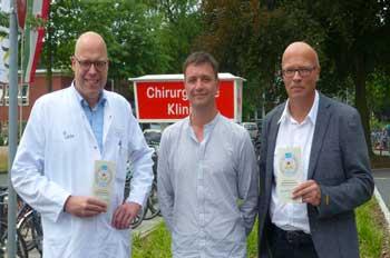 Prof. Daniel Palmes, René Hohenhausen und Matthias Erlenburg (v.l.n.r.)