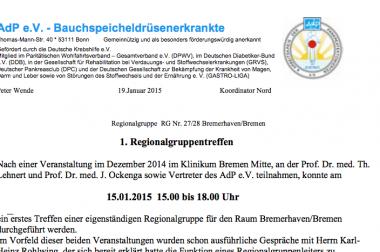 15.01.2015 Bremen
