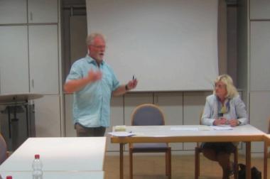 04.09.2017 Wiesbaden Politik zu Besuch