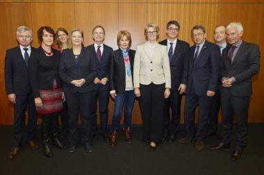 Strategiekreis der Initiative in Berlin