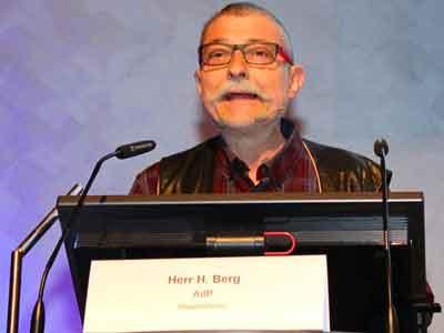 Hans Berg berichtet über seine eigene Erkrankung