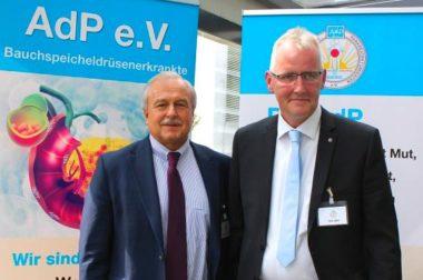 Prof.Dr. W. Uhl und Lutz Otto