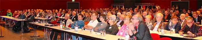 Mehr als 300 Tagungs-Teilnehmer schenkten den Referenten ihr volle Interesse.