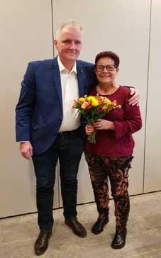 Lutz Otto mit Barbara Hübenthal