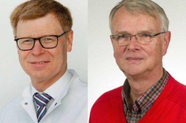 Prof. Dr. Helmut Friess (l.) folgt auf Prof. Dr. Michael Poll